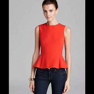 French connection top, red color. Size 0